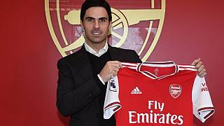 Arsenal's new coach is Mikel Arteta