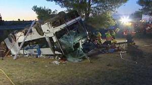 South African bus accident