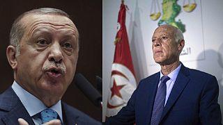 La Libye au centre d'une visite surprise d'Erdogan à Tunis