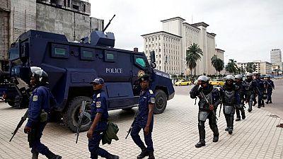 RDC: à Kinshasa, un malade mental présumé tue deux policiers