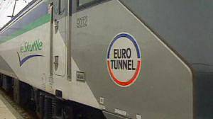 Eurotunnel sales down