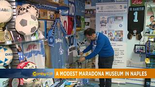Modest Naples museum pays tribute to Diego Maradona [Grand Angle]