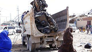 Truck bomb rocks Somali capital Mogadishu, 61 dead - Official