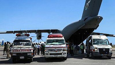 Attentat de Mogadiscio : évacuation des victimes