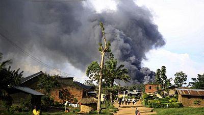 RDC : au moins 5 morts dans l'explosion d'un obus dans l'est