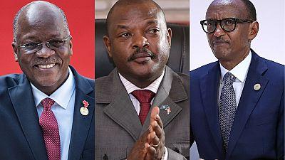 Winds of change: Rwanda's Kagame, Tanzania's Magufuli, Burundi's Nkurunziza to quit