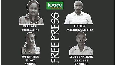 Burundi : 15 ans de prison requis contre quatre journalistes