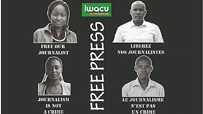 Burundian journalists face 15-year jail term for 'breaching state security'