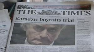 Prosecution opens case against Karadzic