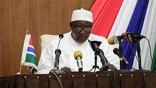 Gambia president launches own party after rift with ruling coalition