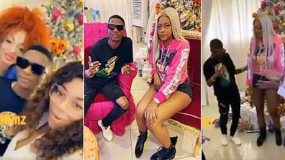 Controversy as Wizkid performs at private party for Cameroon First Lady, daughter