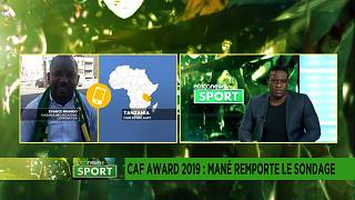 CAF awards 2019, Sadio Mane wins poll