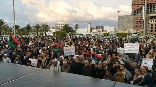 Pro, anti-Turkey protests rock Libya over troop deployment plans