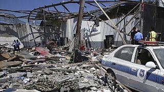 Airstrike hits military academy in Libya capital Tripoli, 30 killed