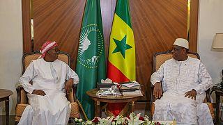 Guinea-Bissau president-elect on regional tour - visits Senegal, Nigeria
