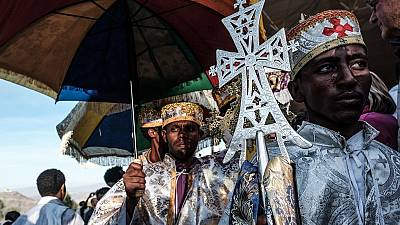 Orthodox Christians in Horn, North Africa celebrate Christmas