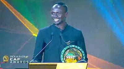 Senegal's Sadio Mane crowned African player of the year 2019