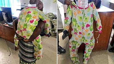 Cosmetics hidden in fake baby: Uganda busts smuggler from DRC