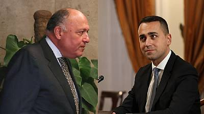 Crise en Libye : les chefs de la diplomatie italienne et égyptienne à Alger