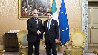 Italy hosts Libya's Khalifa Haftar