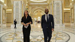 """Visite du Qasr Al Watan, le """"palais de la nation"""" d'Abu Dhabi"""