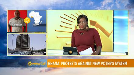 Ghana opposition parties protest new biometric voters' register [Morning Call]