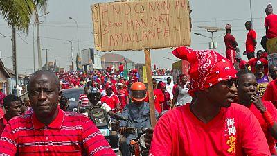 Guinée : deux morts à Conakry pour le début d'une mobilisation anti-Condé