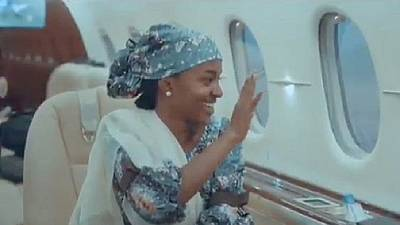 Private use of presidential jet by Buhari's daughter gets Nigerians sparring