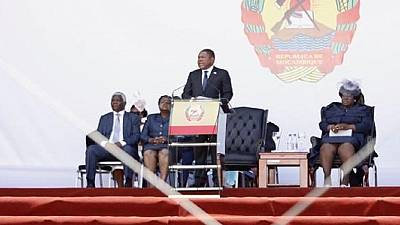 Mozambique president sworn in after contested re-election