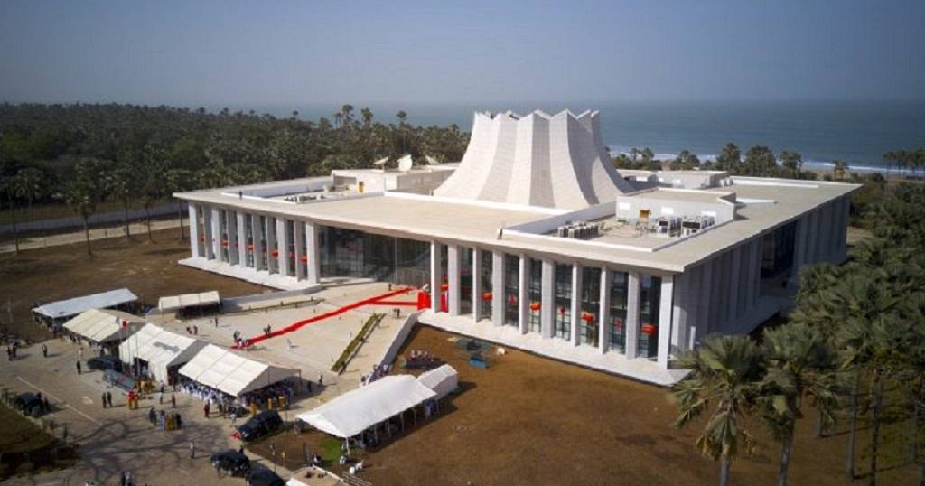 Gambia names 1000-seater China-funded edifice after ex-president Jawara