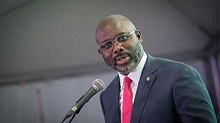 A la présidence du Liberia depuis deux ans, Weah a déçu