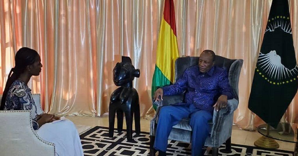 Entretien avec Alpha Conde: Crises en libye, au Sahel et politique en Guinée au menu
