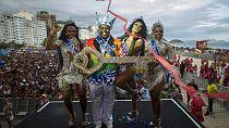Couleur, culture et chaos au célèbre carnaval de Rio au Brésil