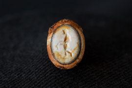 Chaton de bague formé d'une intaille