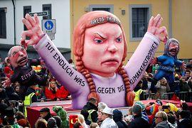 Klimaaktivistin Greta Thunberg ist zu Besuch in Düsseldorf.