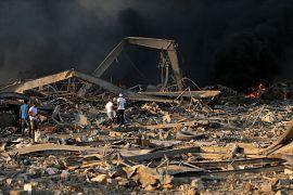 Свыше 4 тыс. жителей Бейрута получили ранения.