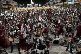 Sambódromo de Río de Janeiro, Brasil, el 4 de marzo de 2019.