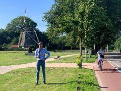 Euronews reporter Hans von der Brelie
