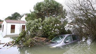 Case inundate dopo la tempesta Xynthia a La Faute-sur-Mer