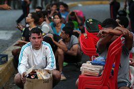 Personas detenidas por saqueo. Caracas, Venezuela. 10 de marzo, 2019.