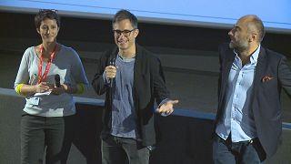 Gael Garcia Bernal lors du Festival Lumière 2019