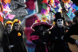 Desfile em Monterrey