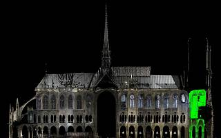 3D Model of the Notre Dame cathedral