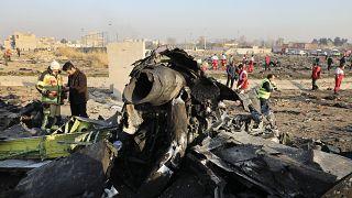 """بومبيو وترودو يدعوان لـ""""تعاون كامل"""" و""""تحقيق معمق"""" في تحطم الطائرة الأوكرانية"""