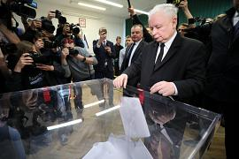 Jaroslaw Kaczynski, leader of the ruling Law and Justice (PiS) party