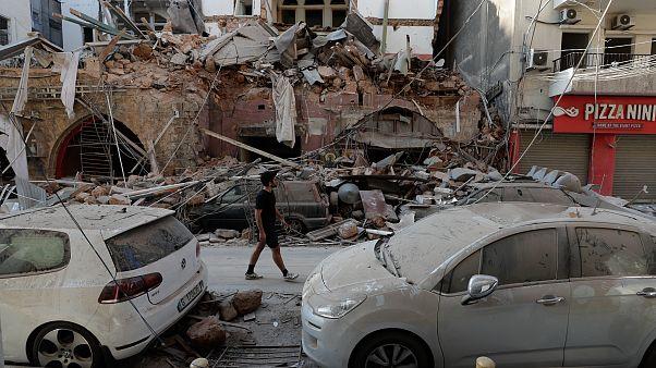 I residenti di Beirut ci aprono le loro case sventrate dall'esplosione - Foto -