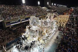 Sambódromo de Río de Janeiro, Brasil, el 3 de marzo de 2019.