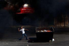 تظاهرات فلسطینیان در کرانه باختری در سال ۲۰۰۹