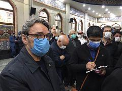 حسین علیزاده از جمله برجستهترین شخصیتهای هنری بود که در این مراسم حضور داشت