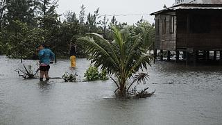 Efeitos do furacão Eta na Nicarágua